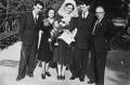 Paul & Ann Ornstein (L) celebrate a wedding with their best friends Lucy & Steve Hornstein