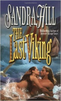 This time-travel romance has the Viking from the past suddenly appearing in the contemporary female Professor's living room. Nice twist. Also, note appropriate bodies & long hair on protagonists, please.
