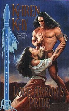 Apparently Avon-imprint allows romances set in the American historical West, as long as the hero is a Native American body-builder.