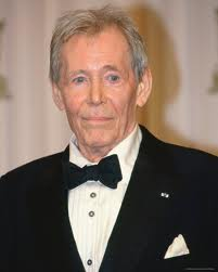 One of the greatest actors of all time, Peter O'Toole, who passed away this weekend in London, after a lengthy illness, at the age of 81.