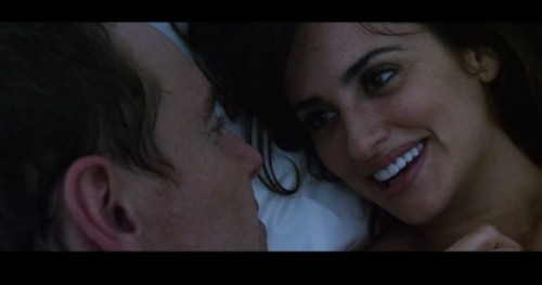 Michael Fassbender as -- you guessed it -- the Counselor, and Penélope Cruz as the love of his life, Laura