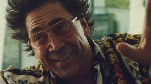 Javier Bardem (Renier) in his Best Bad Walken get-up