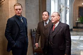 L-R: Darmody, Capone, Torrio