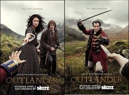 outlander s1p2 2 posters