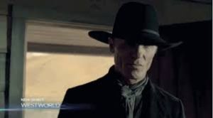 The Man in Black (Ed Harris) HBO
