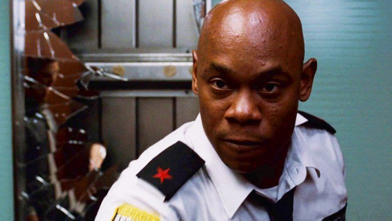bokeen woodbine as security guard   The Alexandria Papers