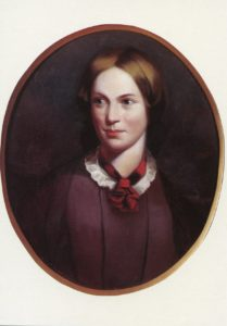 Portrait of Charlotte Brontë by J. H. Thompson, from Brontë Parsonage Museum